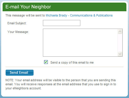 Email Your Neighbor